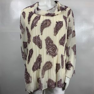 3For20$ Chico's Long Sleeve Blouse Size: 3